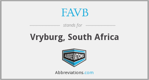 FAVB - Vryburg, South Africa