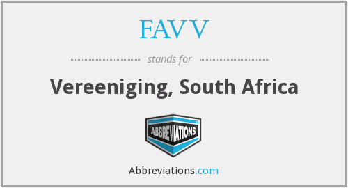 FAVV - Vereeniging, South Africa