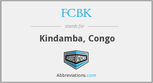 What does FCBK stand for?