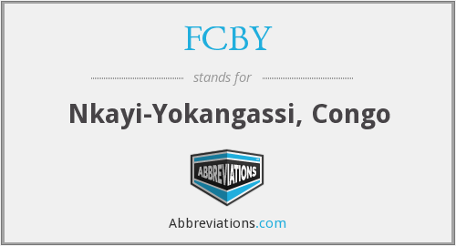What does FCBY stand for?