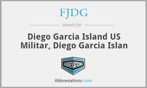 FJDG - Diego Garcia Island US Militar, Diego Garcia Islan