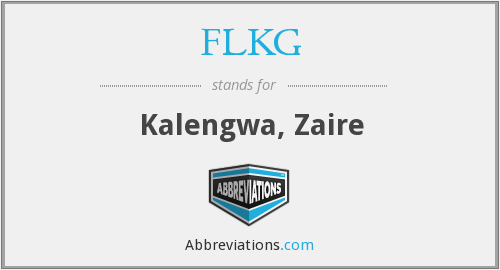 What does FLKG stand for?