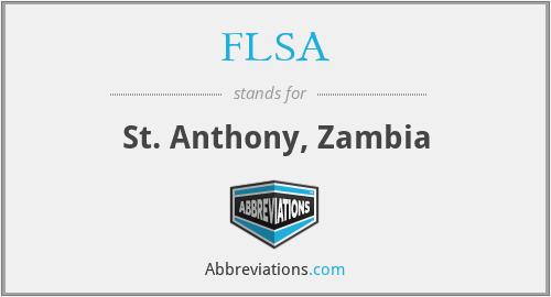 FLSA - St. Anthony, Zambia