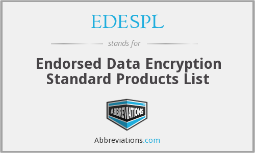 What does EDESPL stand for?