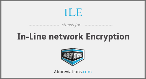 ILE - In-Line network Encryption