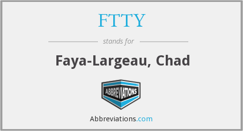 FTTY - Faya-Largeau, Chad