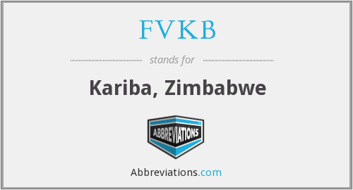 What does FVKB stand for?