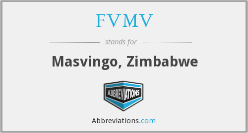 What does FVMV stand for?