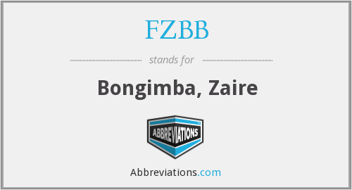 What does FZBB stand for?