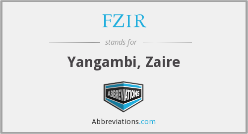 What does FZIR stand for?