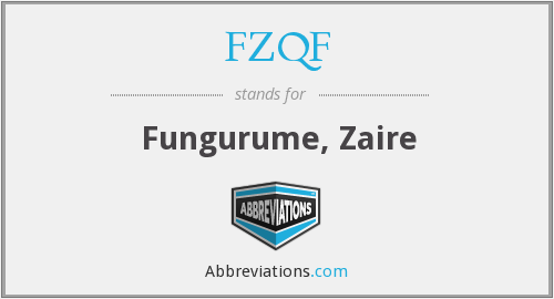 What does FZQF stand for?