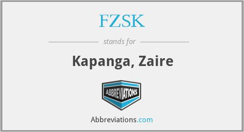 FZSK - Kapanga, Zaire