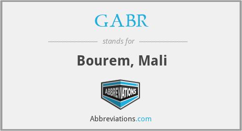 GABR - Bourem, Mali