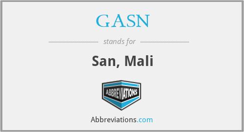 GASN - San, Mali