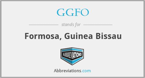 GGFO - Formosa, Guinea Bissau