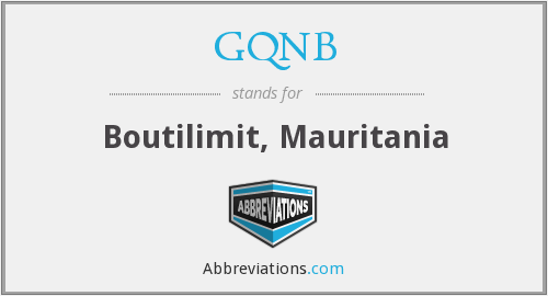 What does GQNB stand for?