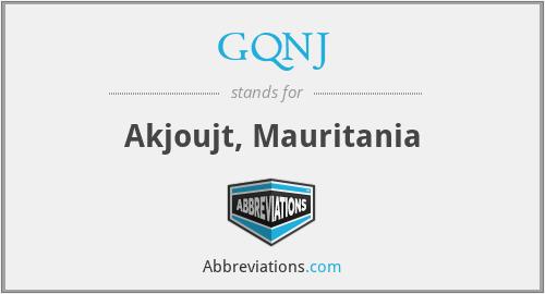 GQNJ - Akjoujt, Mauritania