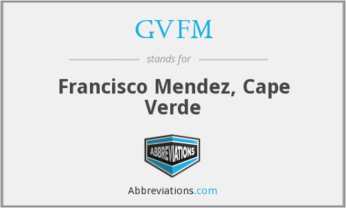 What does GVFM stand for?