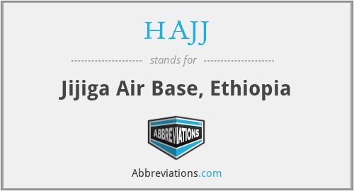 HAJJ - Jijiga Air Base, Ethiopia
