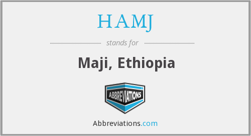 What does HAMJ stand for?