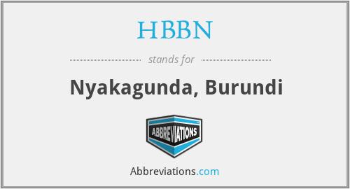 HBBN - Nyakagunda, Burundi