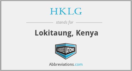 HKLG - Lokitaung, Kenya