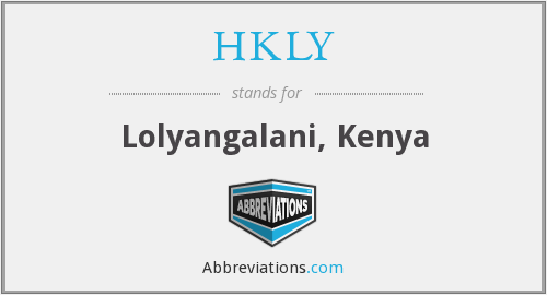 What does HKLY stand for?