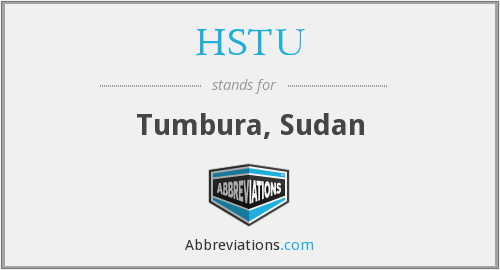 What does HSTU stand for?