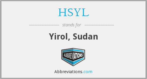 What does HSYL stand for?