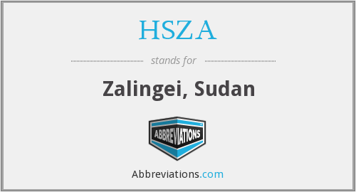 What does HSZA stand for?