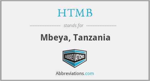HTMB - Mbeya, Tanzania