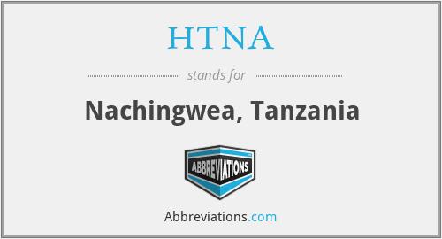 HTNA - Nachingwea, Tanzania
