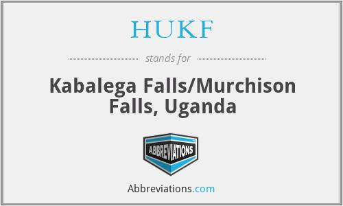 HUKF - Kabalega Falls/Murchison Falls, Uganda
