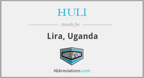 HULI - Lira, Uganda