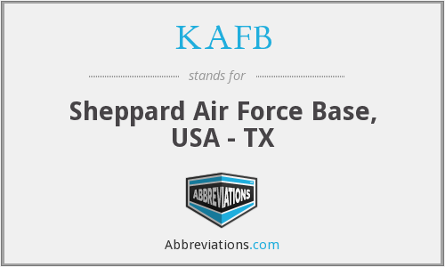 KAFB - Sheppard Air Force Base, USA - TX