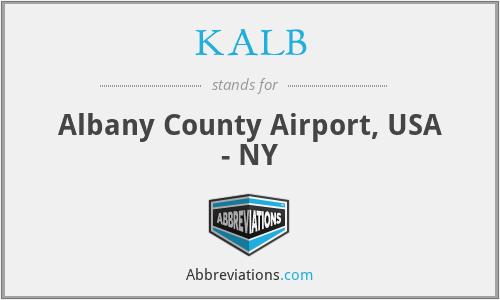 KALB - Albany County Airport, USA - NY