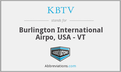 KBTV - Burlington International Airpo, USA - VT