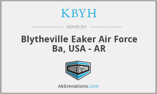 KBYH - Blytheville Eaker Air Force Ba, USA - AR