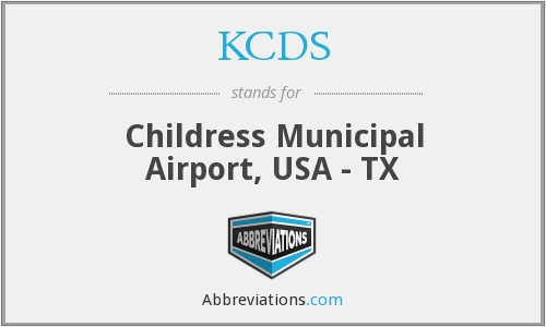 KCDS - Childress Municipal Airport, USA - TX