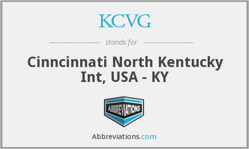 KCVG - Cinncinnati North Kentucky Int, USA - KY