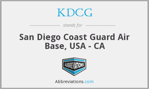 What does KDCG stand for?