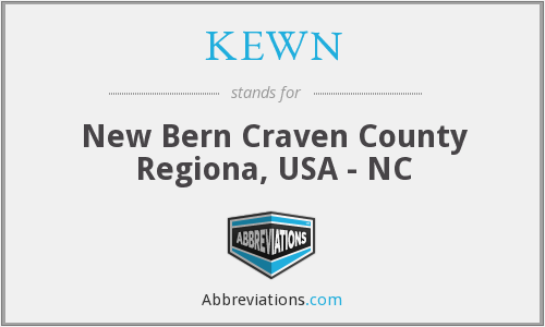 KEWN - New Bern Craven County Regiona, USA - NC