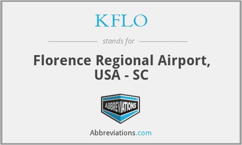 KFLO - Florence Regional Airport, USA - SC