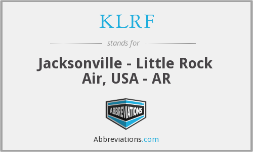 KLRF - Jacksonville - Little Rock Air, USA - AR