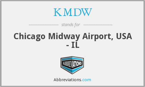 What does KMDW stand for?