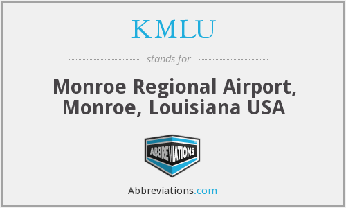 KMLU - Monroe Regional Airport, USA - LA