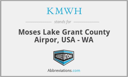 KMWH - Moses Lake Grant County Airpor, USA - WA