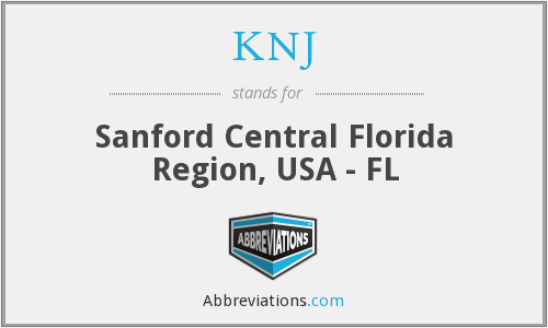 KNJ - Sanford Central Florida Region, USA - FL