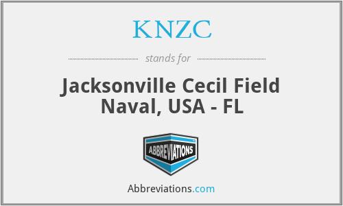KNZC - Jacksonville Cecil Field Naval, USA - FL