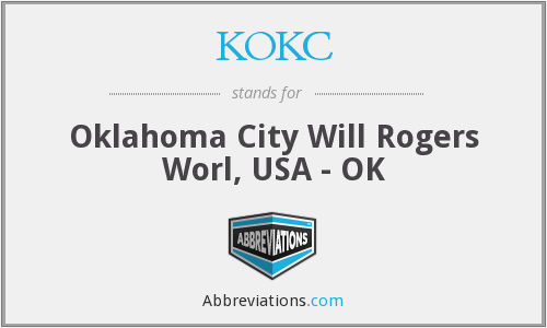 KOKC - Oklahoma City Will Rogers Worl, USA - OK